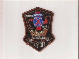 Army Aviation Morale Patch - 717th Medical Company DUSTOFF:GA14-1 - $4.85