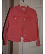 New Directions Denim Jacket Size P L - $27.95