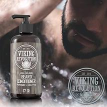 Best Deal Beard Conditioner w/Argan & Jojoba Oils - Softens & Strengthens - Natu image 4