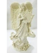 Angel with wings made from polyresin white - $15.98
