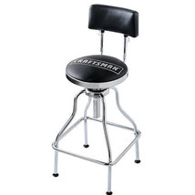 Craftsman Adjustable Tall Hydraulic Seat Stool Chair Garage Shop Bar Stool - £49.06 GBP