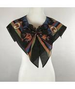 Little House On the Prairie Scarf Orange Black Bow Costume Aztec Horse W... - $13.08