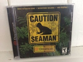 Seaman (Dreamcast, Game + Case + Manual, NO MICROPHONE) - $22.76