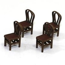 28mm Furniture: Medium Wood Bentwood Back Chair