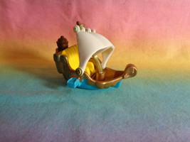 VTG 2000 Polly Pocket Disney Magic Kingdom Peter Pan's Flight Replacement Ship  - $4.94