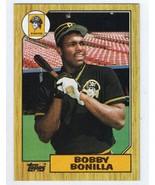 Bobby Bonilla ORIGINAL Vintage 1987 Topps Rookie Card #184 Pirates - $4.99