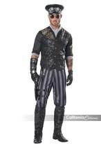 Californie Déguisements Steampunk Goth Commander Adulte Hommes Halloween... - $62.98