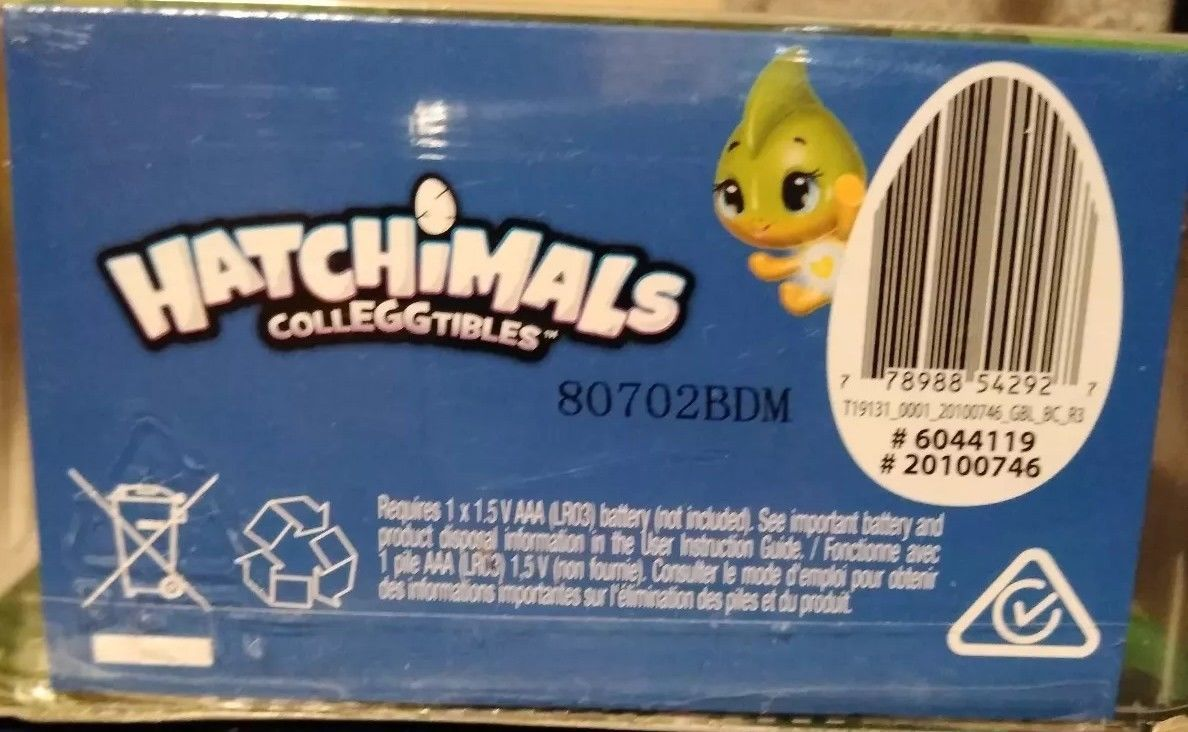 Hatchimals Colleggtibles Season 4 Hatchy Home Light up Nest Glittering Garden