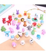 XUES® 1PC/Set Cute Kawaii Cartoon Animal Shape Rubber Eraser Student Lea... - $1.41