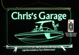 Personalized Boat Sign LED Man Cave Sign- Garage Sign, Bar sign, Camping... - $94.05+