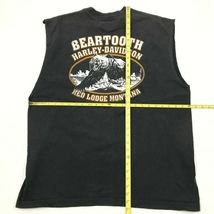 Harley Davidson Dragon Camicia senza Maniche XL Beartooth Grizzly Rosso Lodge image 5
