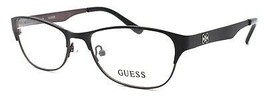 GUESS GU2398 BKGUN Women's Eyeglasses Frames 55-16-140 Black / Brown + CASE - $64.15