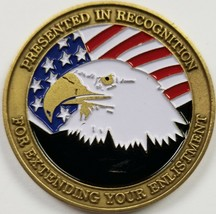 US Army National Guard Awarded for Extending Your Enlistment YOU CAN Coin - $29.69