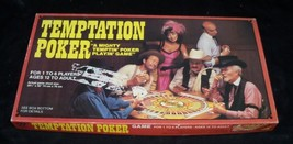 Vtg 1982 Temptation Poker Mat Card Game Whitman - $8.54