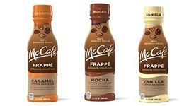 McCafe Frappe Coffee Beverages (3 Flavor Sampler Pack) - $12.46