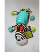 Baby B. Squeezy Zeeby Plush Squeaky Crinkle Textures Adorable Colors Accordion - $28.70