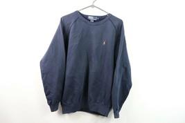 Vintage 90s Polo Ralph Lauren Uomo Medio Manica Lunga Maglione Girocollo... - $37.09