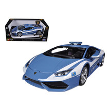 Lamborghini Huracan LP610-4 Police 1/18 Diecast Car Model by Bburago 11041 - $59.13