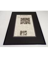 New York Times Jan 28 1973 Framed 16x20 Front Page Poster Vietnam War Halts - $74.44