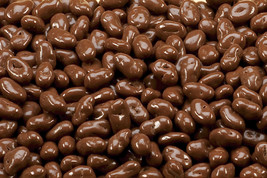 SUGAR FREE MILK CHOCOLATE RAISINS, 5LBS - $43.19
