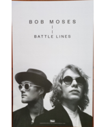 """Bob Moses """"Battle Lines"""" 11"""" x 17"""" double-sided Promo Poster, new - $14.95"""