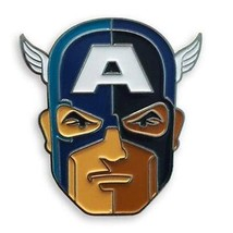 Captain America Marvel Mondo Enamel Collectible Lapel Pin by Tom Whalen - $18.78