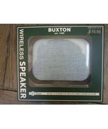 Buxton Wireless Bluetooth Speaker USB Rechargeable Blue New original box... - $14.05