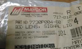 MAYCOR 7730P004-60 AMBER LENSE - $14.99
