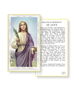 St. Lucy Prayer Holy Card 100-Pack - $34.99