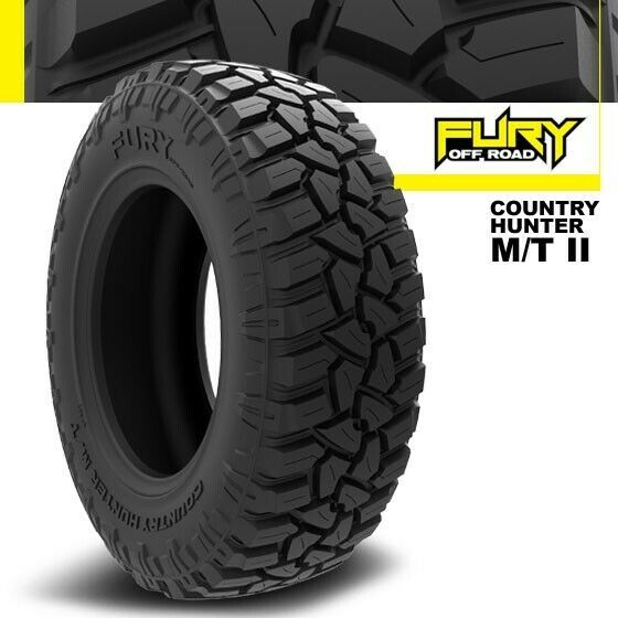 42X16.50R30LT FURY OFF-ROAD COUNTRY HUNTER M/T II 127Q 10PLY (SET OF 4) image 6