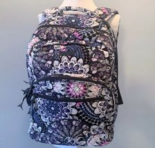 Vera Bradley Essential Large Backpack Laptop Bag ~ Mimosa Medallion Pattern NWT image 5