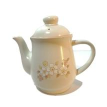 Chantilly Fleur de Bois Stoneware Teapot, Vintage, Japan, Excellent Cond... - $39.95
