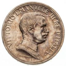 1917-R Italien 2 Lire Pièce Argent En Au État Km #55 - $137.72
