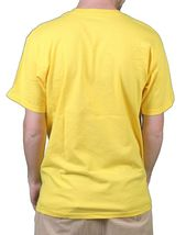 Raza Mens White or Yellow Young Dinero Fu$k the System US President T-Shirt NWT image 5