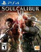 SOULCALIBUR VI (6) PS4 (Sony PlayStation 4, 2018) Brand New - Free Shipping! - $22.44