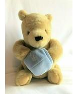 "GUND Winnie The Pooh Classic Plush Stuffed Toy Hunny Pot Musical Wind Up Bear 9"" - $14.80"