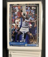 1992-93 Topps #362 Shaquille O'Neal RC - Orlando Magic Rookie Draft Pick - $18.95