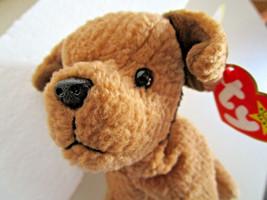 TY Beanie Babies TUFFY Terrier DOG PLUSH TOY Stuffed Animal 1996  New w/tag - $5.59