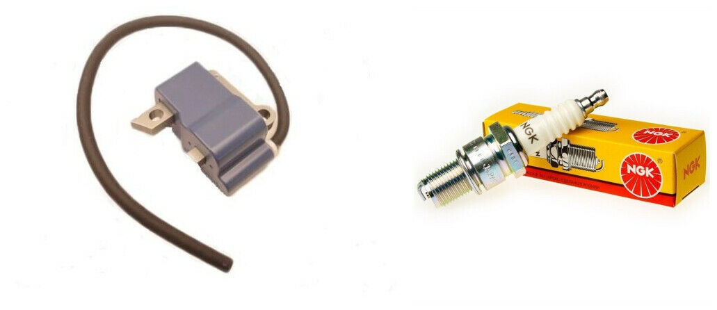 (KIT 17) A411001340 + BPM8Y ECHO CS-590 TIMBER WOLF IGNITION COIL & Spark Plug - $119.99