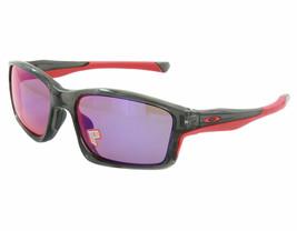 Oakley Chainlink POLARIZED Sunglasses OO9247-10 Grey Smoke W/ Red Iridium Lens - $64.34