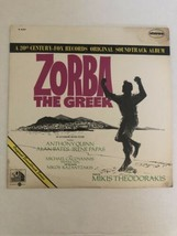 Zorba The Greek LP Record Original 1966 Soundtrack Mint Condition - $19.34