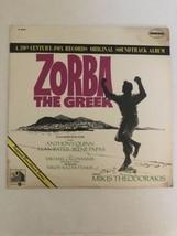 Zorba The Greek LP Record Original 1966 Soundtrack Mint Condition - $376,20 MXN