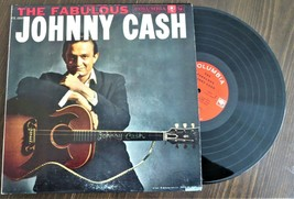record 33 LP Johnny Cas The Fabulous Columbia CL-1253 I ship USA only - $5.93