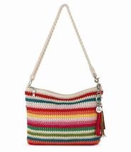 NWT The Sak Casual Classic 3 in 1 Crochet Crossbody Bag Cali Stripe SHP INT - $58.75