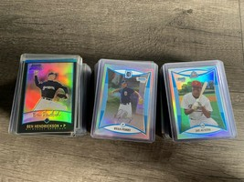 Lot Of 127 Baseball Cards Bowman Chrome Draft Picks 2002-2007 And Other ... - $88.19