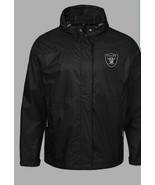 NFL Oakland Raiders Men's Full-Zip Jacket with Hood, Size M & L - New wi... - $69.98