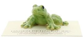 Hagen-Renaker Miniature Ceramic Frog Figurine Tiny Papa Frog image 4