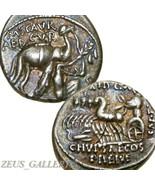 Temp.julius Caesar Aretas Einreichen Pompey Kamel Antike Roman Siber Den... - $355.52