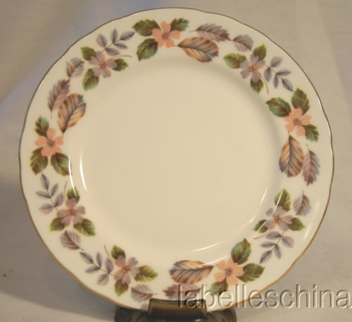 "Primary image for April Rose 6.25"" Bread / Side Plate Made in England by Aynsley Bone China"