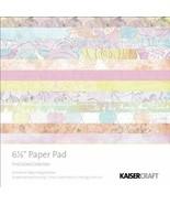 Kaiser craft Pink Gelato Paper Pad Sheets Decoration Album Scrapbook Art... - $10.88